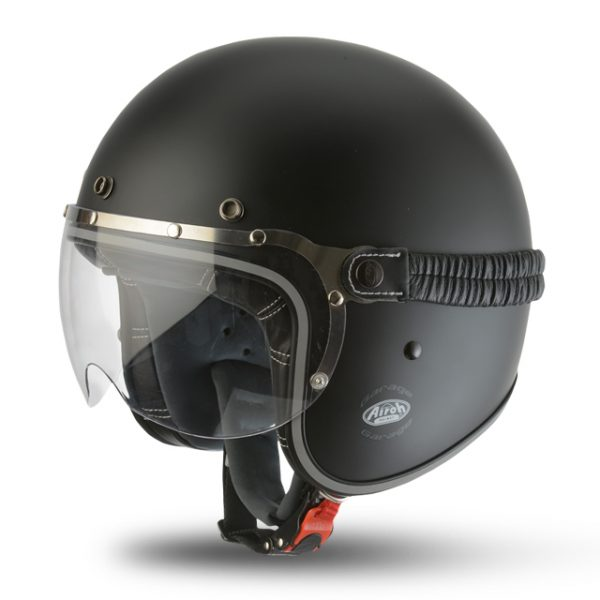 GARAGE MATT BLACK HELMET