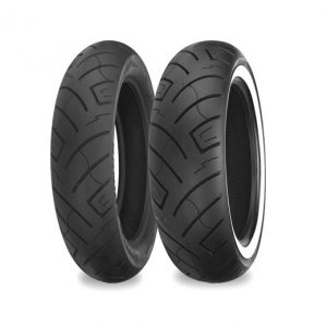 Black Front Tyre 90/90-21