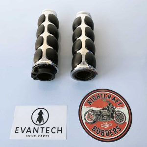 Part # ETRP-315 Chrome Bubble Grip