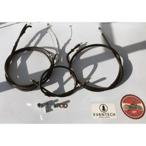 Part # ETKM-347 - Evantech Extended Cable kit to suit Kawasaki Vulcan S 650