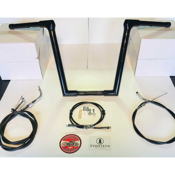 Evantech Mandrill Bar and cable kit Black