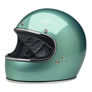 BILTWELL GRINGO ECE HELMET - GLOSS SEA FOAM Part # ETBM-379