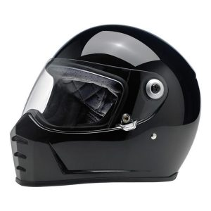 Lane Splitter Helmet - Gloss Black Part # ETBM-393